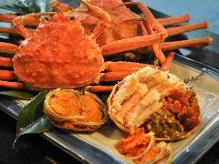 【11月12月限定】本ずわい蟹と香箱蟹を満喫!《めおと蟹プラン》