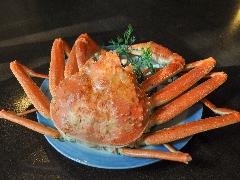 【1月・2月限定】本ずわい蟹を満喫!《本ずわい蟹プラン》
